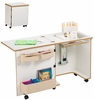 Sylvia Design Model 620 Compact Serger Cabinet with Corner Top