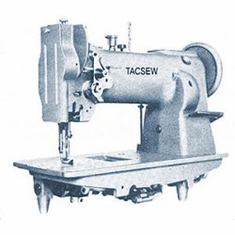 Tacsew TLU563 Compound Walking Foot Needle Feed Lockstitch Machine