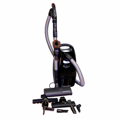 The Bank Vault Canister Vacuum with Soft Clean Power Head Includes  a FREE year supply of bags!