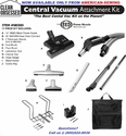 "<h2>""THE BEST CENTRAL VAC KIT ON THE PLANET""</h2>  <h3>Deluxe Central Vacuum Kit With 12"" SEBO Power Nozzle with 30 FT Direct Connect Hose</h3>"