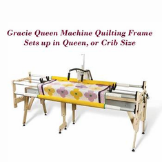 The Gracie Queen Machine Quilting Frame