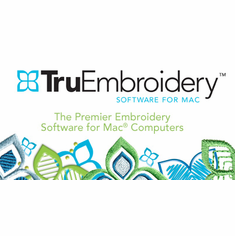 TruEmbroidery� Software for Mac�