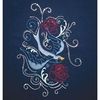 Wings and Roses - Embroidery and Crystal Combo Pack #970519