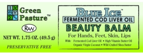 Beauty Balm | Green Pasture | Blue Ice Fermented Cod Liver Oil