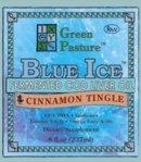 BLUE ICE Fermented Cod Liver Oil | Cinnamon Tingle (Liquid)