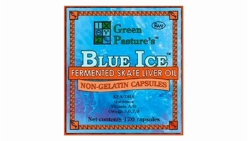 Blue Ice Fermented Skate Liver Oil | Green Pasture | 120 CNT