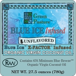 BLUE ICE™ Infused Organic Virgin Coconut Oil - UNFLAVORED-Family Size