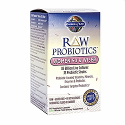 RAW Probiotics™ Women 50 & Wiser | Garden of Life | 90 CNT