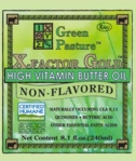 X-FACTOR Gold High Vitamin Butter Oil - Non-Flavored (liquid)