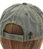 Army Green Brown Y'all Need Jesus Distressed Baseball Rustic Cap Hat
