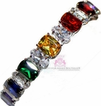 Beauty for Ashes CZ Arm Candy Rainbow in the Sky Bracelet