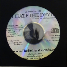 I HATE THE DEVIL DELIVERANCE NICKS TESTIMONY PRAYERS FREE DOWNLOAD