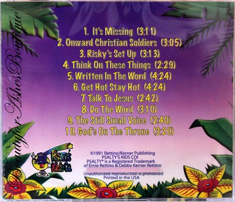 KIDS PRAISE 9 CD - The Secret to How to Grow in the Lord