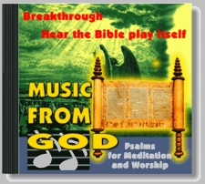 Music From God 1 Bible Psalms for Biblical Healing Meditation and Worship CD