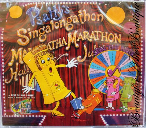 PSALTY'S SINGALONGATHON CD THE BEST OF KIDS PRAISE!