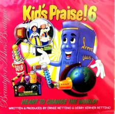 PSALTY KIDS PRAISE 6 CD - Heart to Change the World!