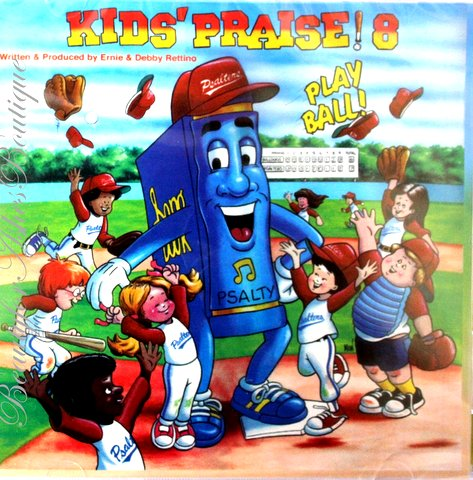 PSALTY KIDS PRAISE 8 CD - Play Ball!