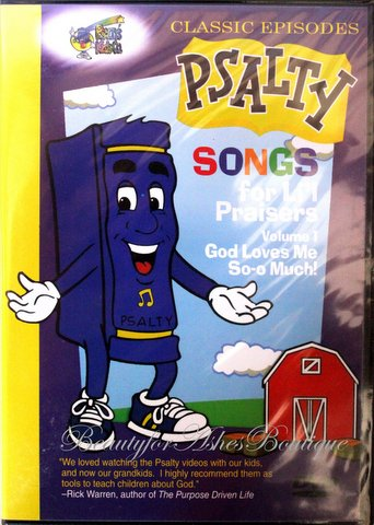 PSALTY SONGS FOR LI'L PRAISERS VOLUME 1 DVD - God Loves Me So-o Much!