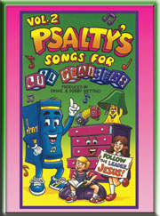 PSALTY SONGS FOR LI'L PRAISERS VOLUME 2 DVD