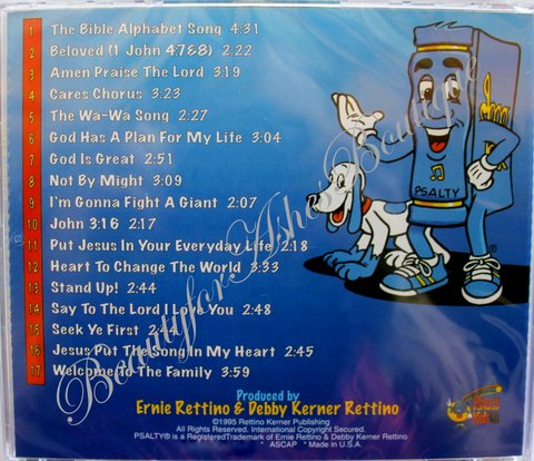 PSALTY SONGS FROM PSALTYS KIDS BIBLE CD