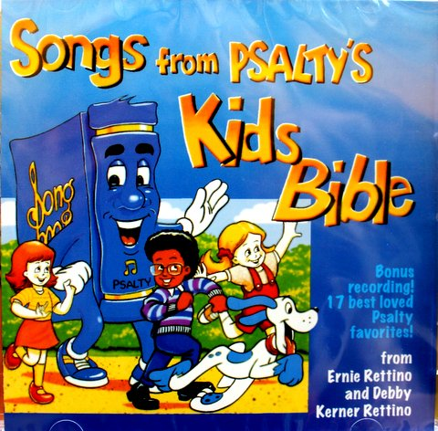 Songs from Psaltys Kids Bible Praise & Worship Childrens CD