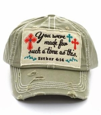Women's Esther 4:14 Ball Cap - You Were Made for Such a Time as This