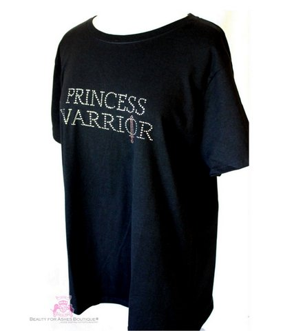 Womens Plus Size Princess Warrior Pink Sword Short Sleeve T Shirt