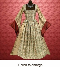 Anne Boleyn Gown Queen Of England