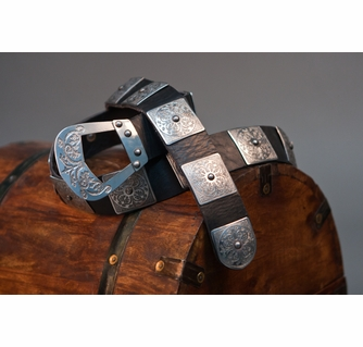 Handmade Status of the Age Leather Medieval Belt