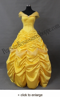 Beauty and the Beast Princess Belle Dress with Tulle