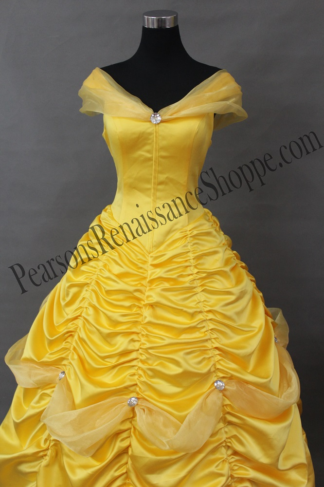 Belle S Diary Bohemian Style: Beauty And The Beast Princess Belle Dress With Tulle