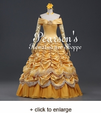 Beauty and the Beast Princess Belle Multilayer Dress
