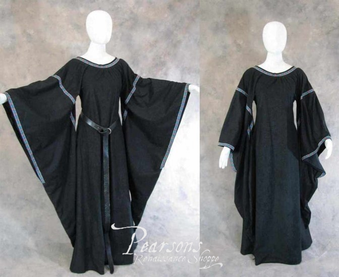 Bell Sleeve Medieval and Renaissance Gown