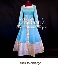 Brave Merida's Princess Dress