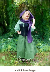 Briar Rose Sleeping Beauty Aurora Costume