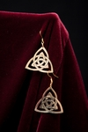 Celtic Brass Earrings