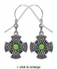 Celtic Mandala Earrings