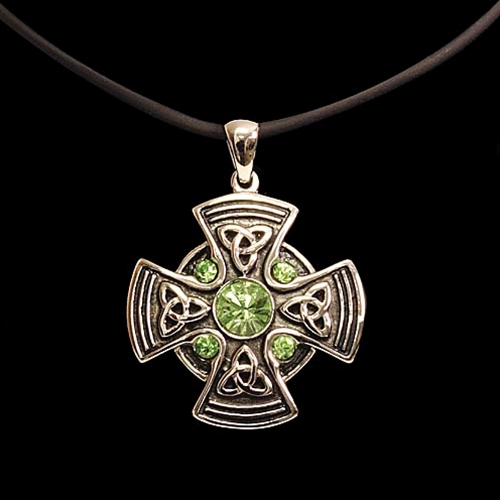 s triquetra women item celtic knot silver pendant biker necklace men irish