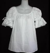 Chemise Top with Matching Bows