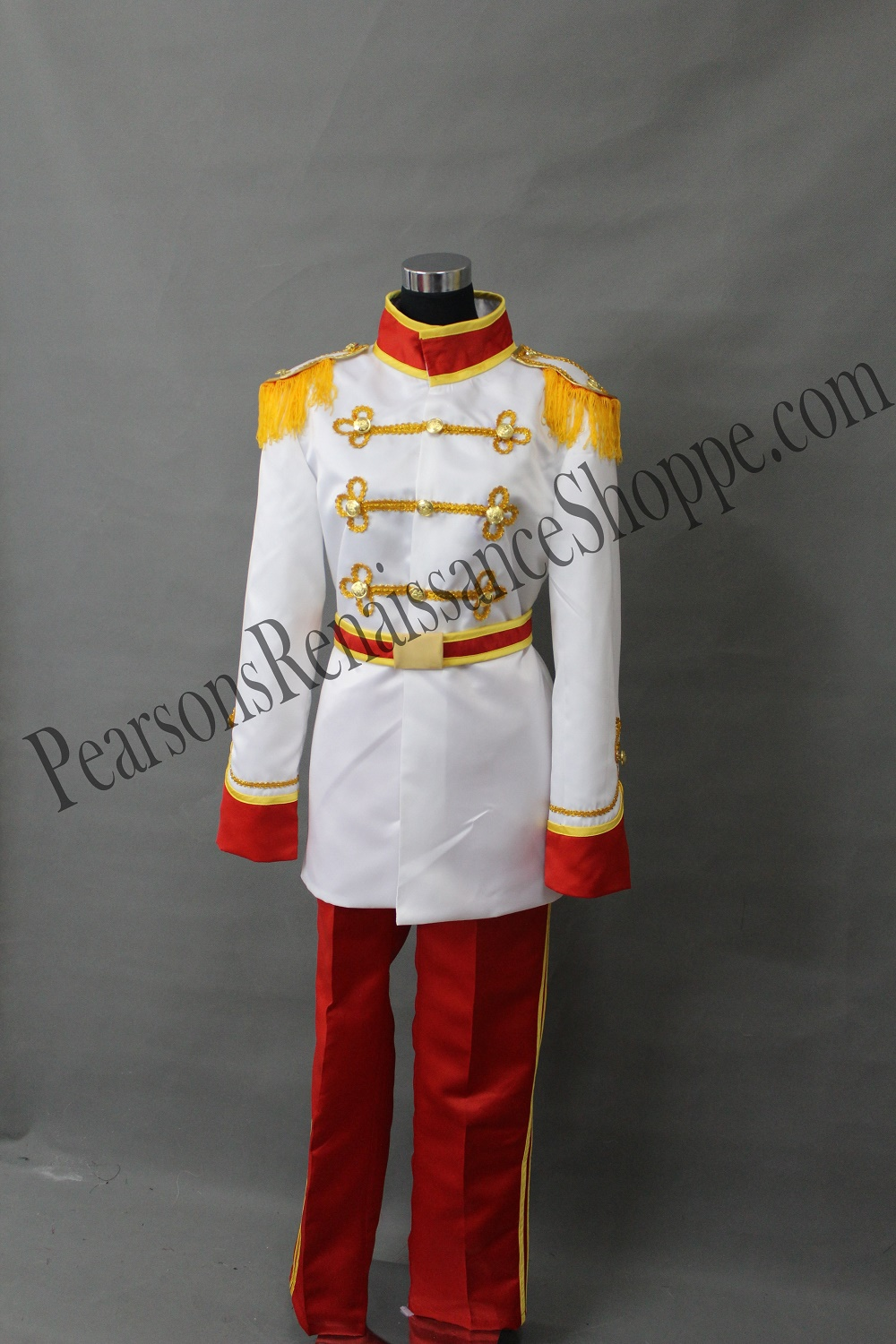 Cinderella Prince Charming Cosplay Costume Set
