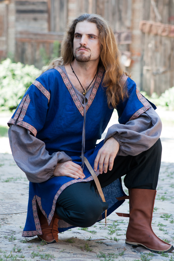 Classic Medieval Short Sleeve Overtunic