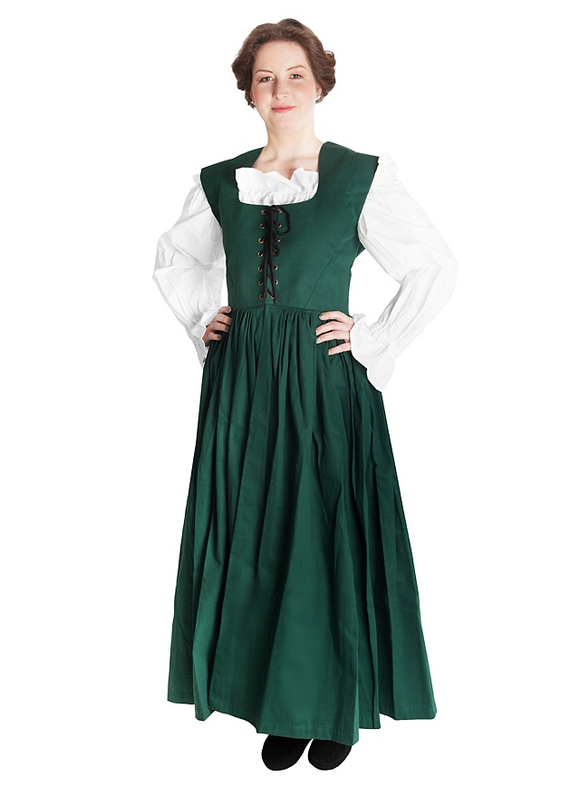 country maid renaissance bodice medieval wench wear