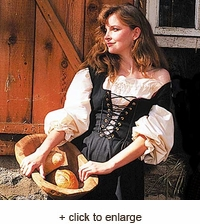 Country Maid Skirt w/Bodice