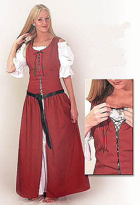 country peasant dress medieval and renaissance clothing