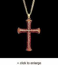 Cross of the Crusades Necklace