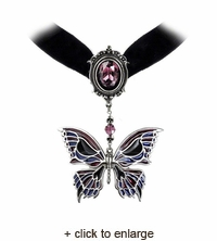 Death's Head Butterfly Choker