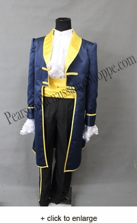 Disney Beauty And The Beast Prince Costume Set