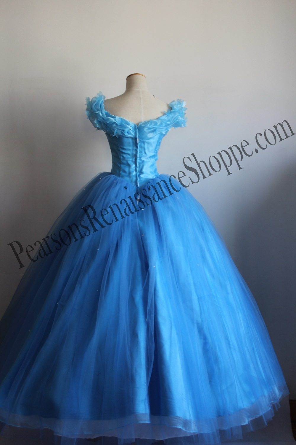 Disney New Princess Cinderella 2015 Cosplay Costume Dress