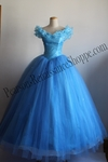 Disney New Princess Cinderella 2015 Cosplay Dress
