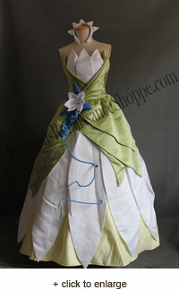 Disney Princess And The Frog Princess Tiana Dress